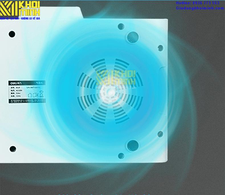 Máy bơm thổi túi đệm khí chèn hàng deli16411