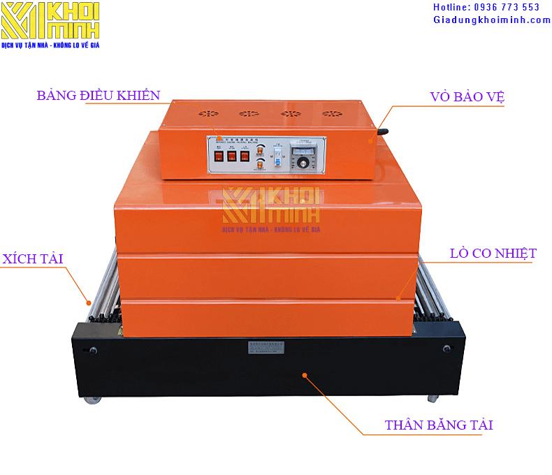 máy bọc màng co bs 6030