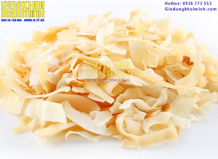 Cách làm dừa sấy khô