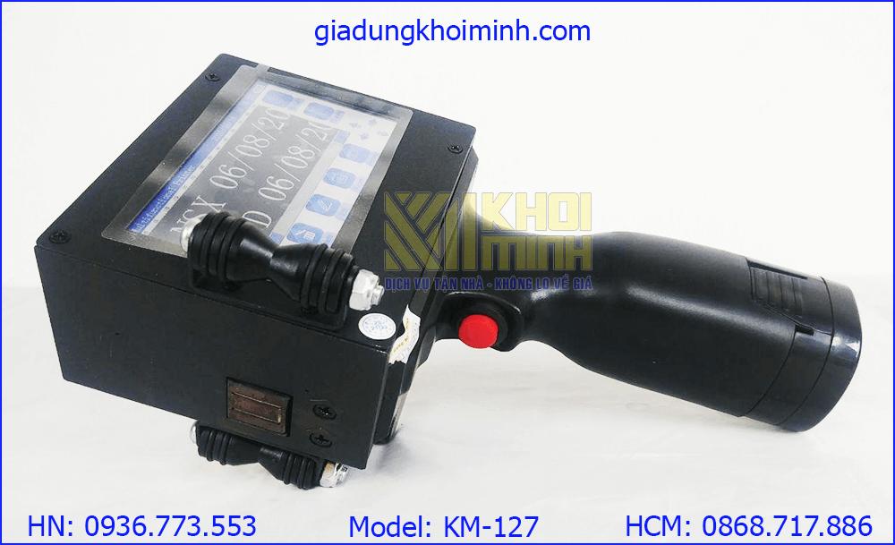 Máy in date cầm tay KM127