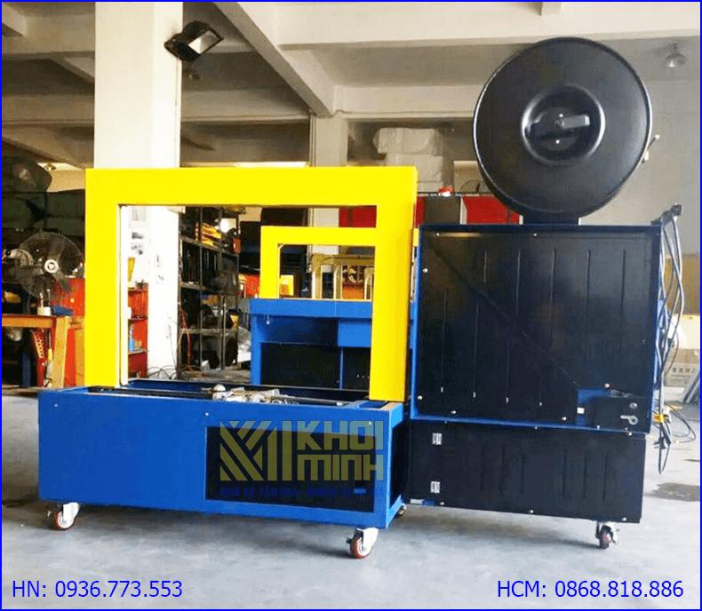 Máy siết đai thùng tự động