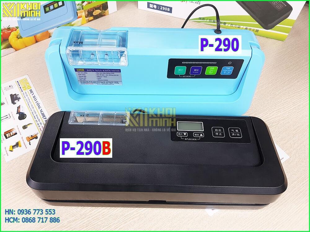 so sánh máy hút chân không p290 và p290b