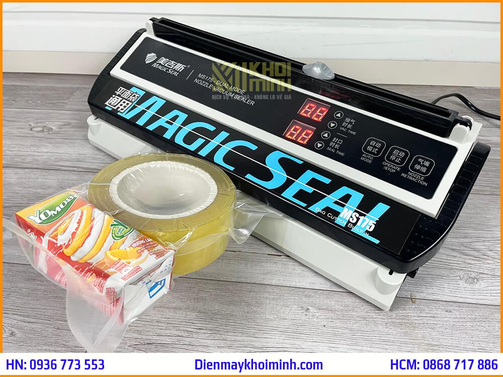 cách sử dụng máy hút chân không magic seal ms175