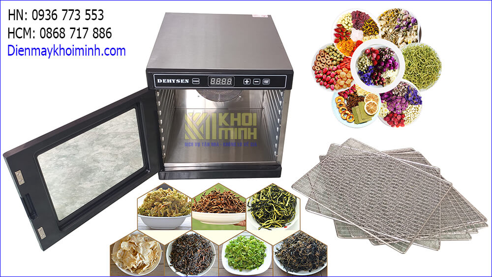 Máy sấy thực phẩm Khôi Minh