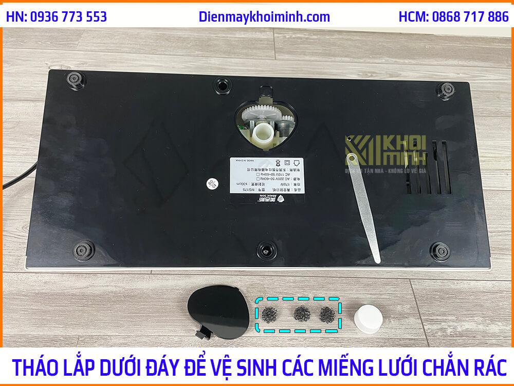 cách vệ sinh máy hút chân không magic seal ms175