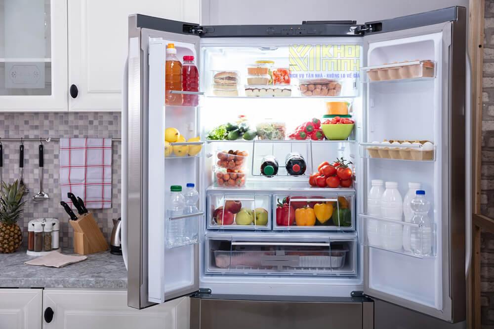 Bảo quản thực phẩm an toàn trong tủ lạnh