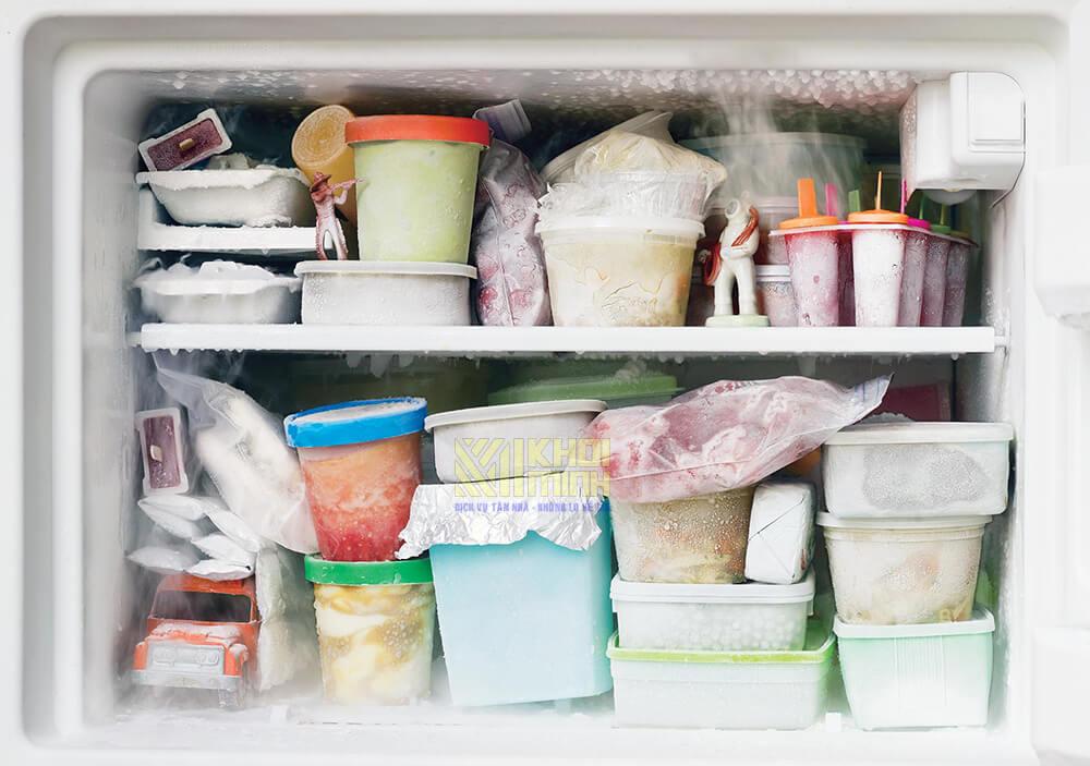 bảo quản thực phẩm trong tủ đông