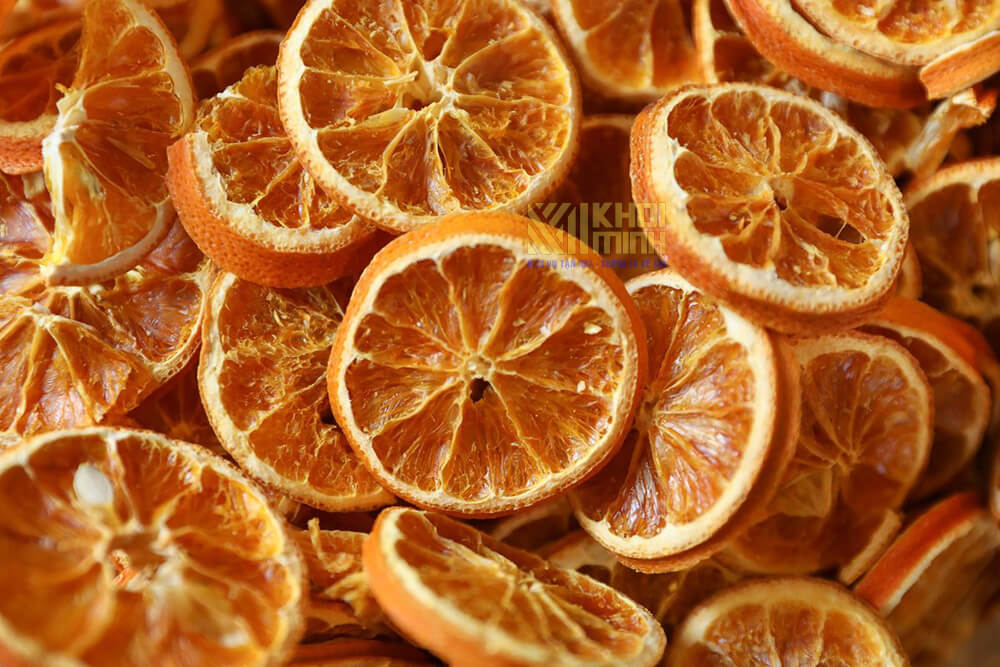 Cách làm cam sấy khô
