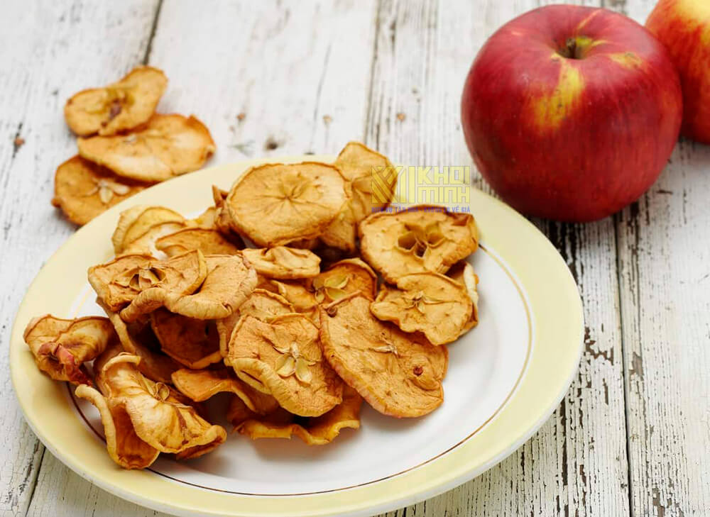 Cách làm táo sấy khô