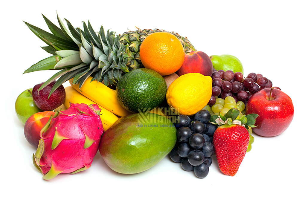 Lựa chọn trái cây tươi để sấy