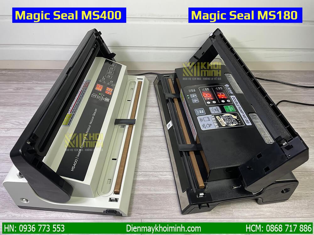 Máy ép chân không magic seal ms180 và ms400