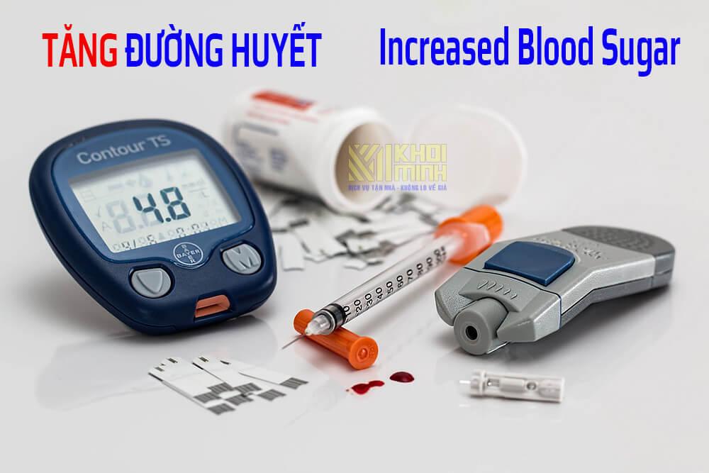 Tăng lượng đường trong máu