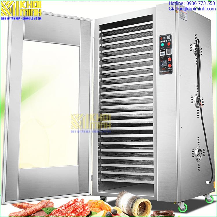 Tủ sấy thực phẩm KM15-C : sấy đa dạng sản phẩm với dải nhiệt độ rộng