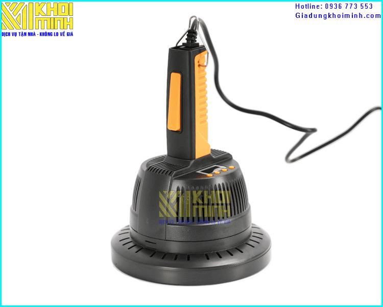 Máy dán màng nhôm KM-800B: Nhỏ gọn và thao tác dễ, đường kính tối đa 13cm