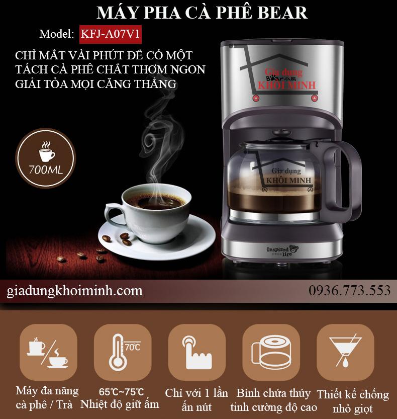 Máy pha cà phê Bear