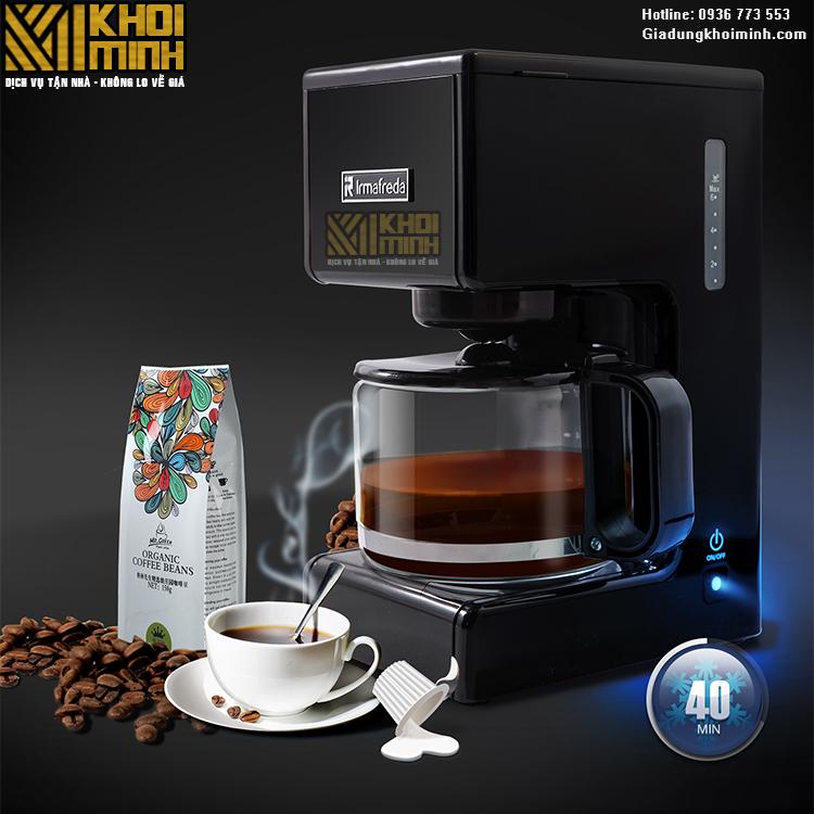 Máy pha cà phê cho quán nhỏ KM1: đa năng, tiện lợi dễ sử dụng