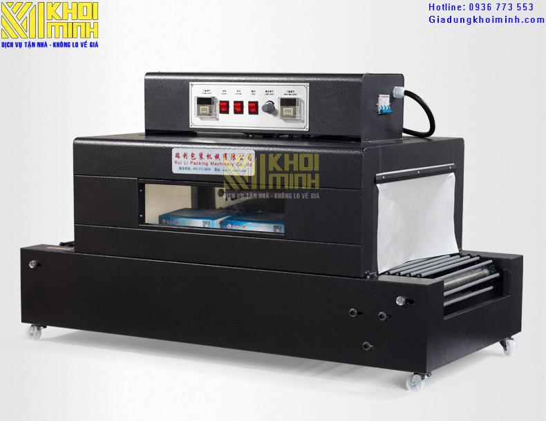 Máy rút màng co BS 400: hiệu suất làm việc cao, có nhiều nâng cấp mới