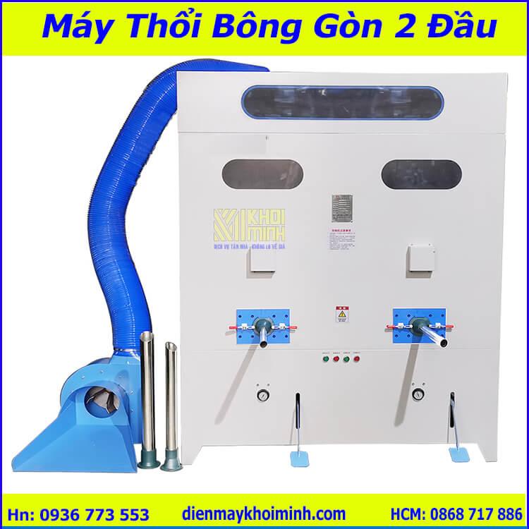 Máy Thổi Bông Gòn 2 Đầu Mới Nhất Hiện Nay
