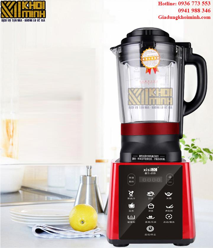 Máy xay và nấu sữa đậu nành KM-01: xay và nấu đa năng nhiều món ăn