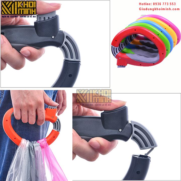 Quai xách túi tiện dụng: xách được nhiều túi không gây đau tay