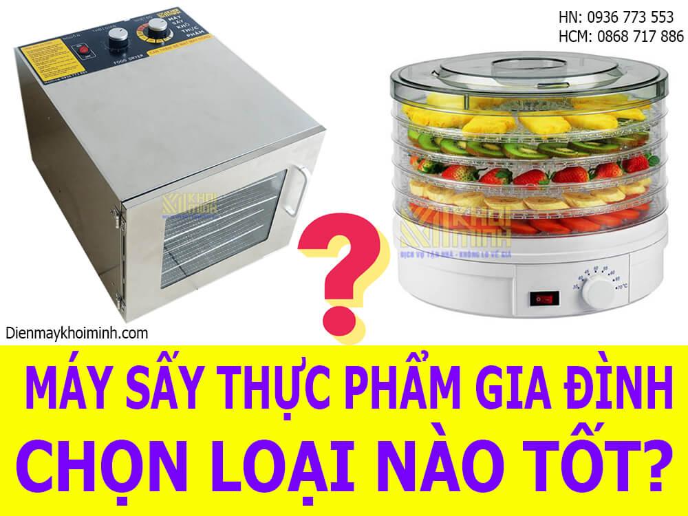 Máy sấy khô thực phẩm mini loại nào tốt?