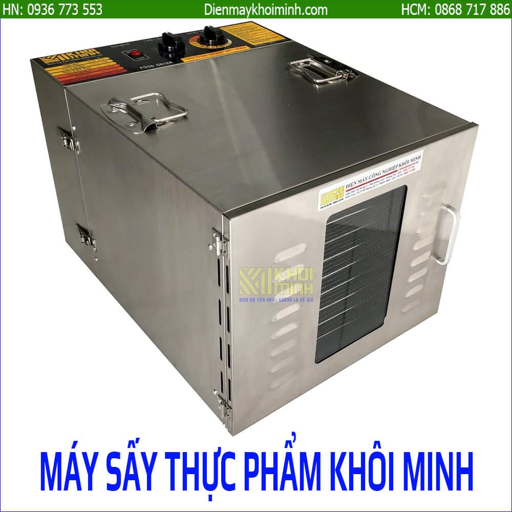 Máy sấy thực phẩm 10 khay Khôi Minh