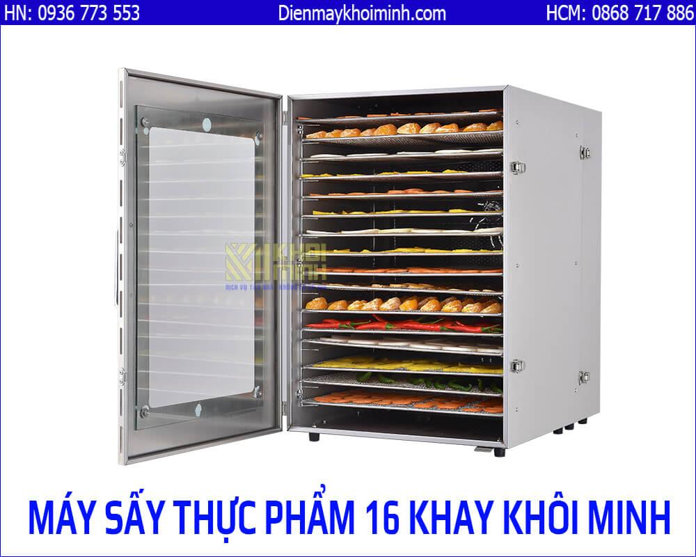 Máy sấy thực phẩm 16 khay Khôi Minh